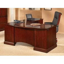 <strong>DMI Office Furniture</strong> Belmont L-Shape Executive Desk Office Suite