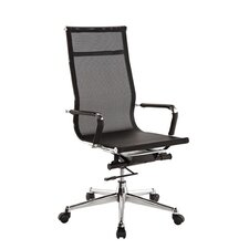 High-Back Pantera Metal and Nylon Office Chair