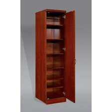 "Belmont Right Hand Facing Single Door 78"" Bookcase"