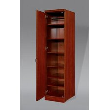 "Belmont Left Hand Facing Single Door 78"" Bookcase"