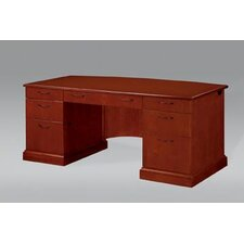 <strong>DMI Office Furniture</strong> Belmont Executive Desk with 9 Drawers