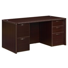 Fairplex Junior Executive Desk with 5 Drawer