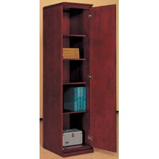 Right Hand Facing Single Door Storage Wardrobe / Cabinet