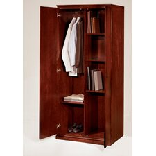 <strong>DMI Office Furniture</strong> Del Mar Double Door Storage Wardrobe/Cabinet