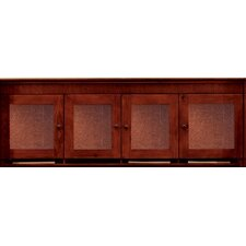 "Del Mar Wall Mounted 25"" H x 69.5"" W Desk Hutch"
