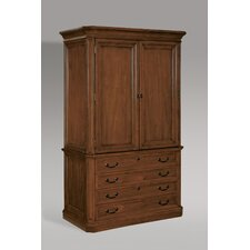 <strong>DMI Office Furniture</strong> Arlington Storage Cabinet Base in Medium Walnut