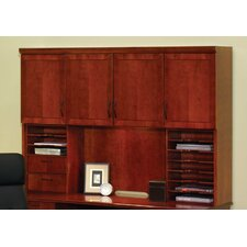 "Belmont 50"" H x 72"" W Desk Hutch with Organizers"