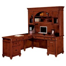 "<strong>DMI Office Furniture</strong> Antigua Left Computer ""L"" Executive Desk"