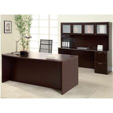 <strong>DMI Office Furniture</strong> Fairplex Executive Standard Desk/Storage Office Suite