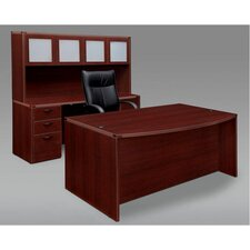 <strong>DMI Office Furniture</strong> Fairplex Executive Pedestal Standard Desk Office Suite