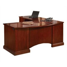 <strong>DMI Office Furniture</strong> Belmont L-Shape Computer Desk with Return