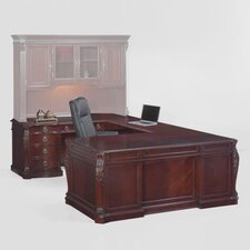 Balmoor Executive U-Shape Desk with Right Return