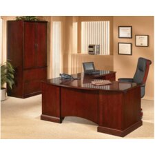 "<strong>DMI Office Furniture</strong> Belmont 72"" W L-Shape Executive Desk with Right Return"