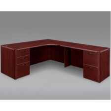 <strong>DMI Office Furniture</strong> Fairplex Executive Corner Desk
