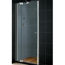 "Elegance 25.25"" x 27.25"" Pivot Adjustable Shower Door"