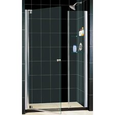 "Elegance 37 .25"" x 39 .25"" Pivot Adjustable Shower Door"