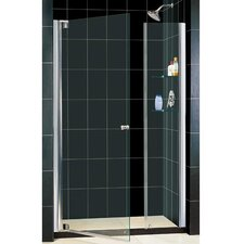 "Elegance 47 .75"" x 49 .75"" Pivot Adjustable Shower Door"