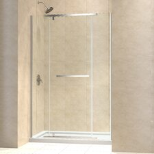 "Vitreo-X 56 - 57"" W x 72"" H Pivot Shower Door"