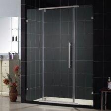 "Vitreo-X 58"" W x 76"" H Pivot Shower Door"
