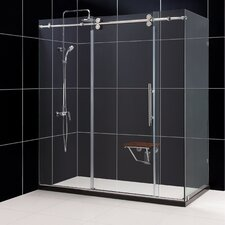 "Enigma 72.5"" x 36"" Sliding Door Shower Enclosure"