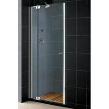 "Allure 73"" H Frameless Adjustable Pivot Shower Door with Optional Matching Shower Tray"