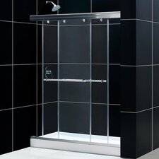 "Charisma Bypass 60"" W x 72"" H Sliding Shower Door"