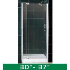 "Allure 30-37"" W x 73"" H Pivot Shower Door"