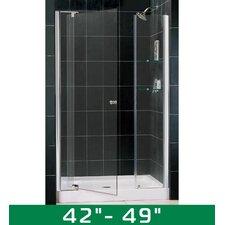 "Allure 42-49"" W x 73"" H Pivot Shower Door"
