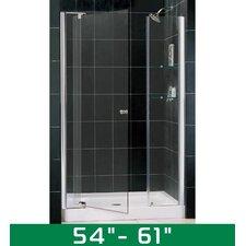 "Allure 54-61"" W x 72"" H Pivot Shower Door"