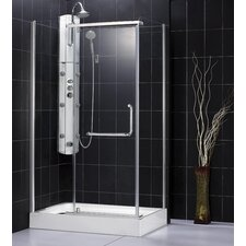 Panorama Pivot Door Shower Enclosure