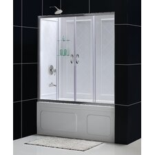 <strong>Dreamline</strong> Visions Sliding Door Shower Enclosure