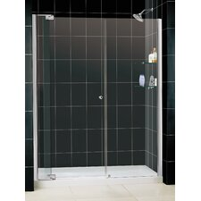 <strong>Dreamline</strong> Allure Pivot Shower Door and SlimLine Shower Base