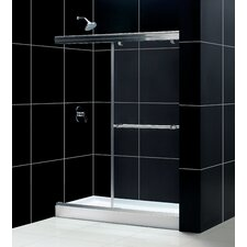 "Charisma 60"" W x 74.75"" H x 32"" D Bypass Shower Door with SlimLine Base"