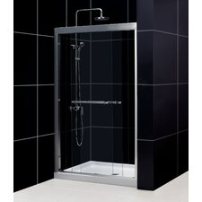 "Duet 44-48"" W x 72"" H Bypass Shower Door"