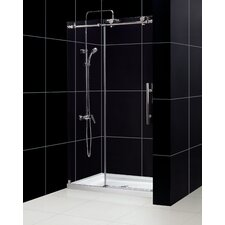 Enigma-X Frameless Shower Door and SlimLine Shower Base