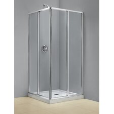 <strong>Dreamline</strong> Cornerview Sliding Shower Enclosure