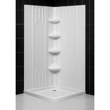 SlimLine Two Panel Shower Enclosure