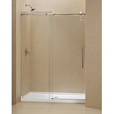 "<strong>Dreamline</strong> Enigma-Z 60"" x 36"" Shower Door and Slimline Base"