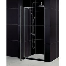 """Flex 36"""" W x 74.75"""" H x 32"""" D Pivot Shower Door with SlimLine Base"""
