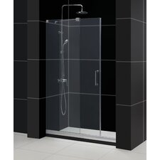 "Mirage 44"" - 48"" W x 72"" H Frameless Sliding Shower Door"