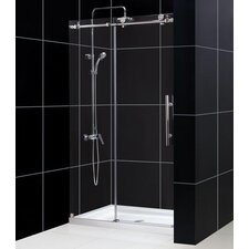 "Enigma-X Fully Frameless 44"" - 60"" W x 76"" H Sliding Shower Door"
