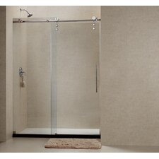 "Enigma-Z 44"" - 60"" W x 76"" H Sliding Shower Door"