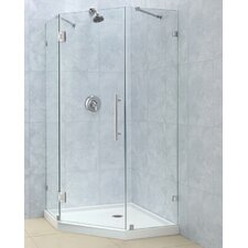 PrismLux Hinged Shower Enclosure