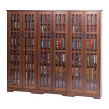 Glass Door High Capacity Multimedia Cabinet