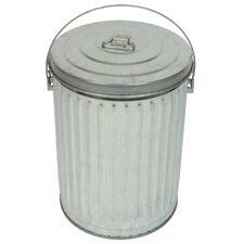 Medium Duty Galvanized 10 Gallon Tapered Side Pail