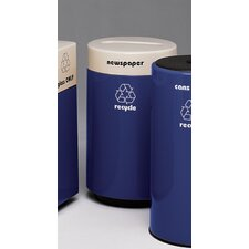 Fiberglass Recycling 21 Gallon Industrial Recycling Bin