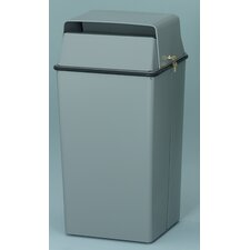 <strong>Witt</strong> 36 Gallon Secure Document Receptacle with Tumbler Lock and Keys