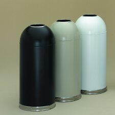 15 Gallon Metal Series OpenTop Trash Can