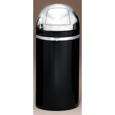 <strong>Witt</strong> Metal Series Monarch 15 Gallon Dome Top Trash Can