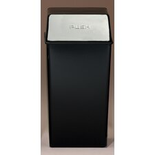 Metal Series Monarch 36 Gallon Push Top Trash Can